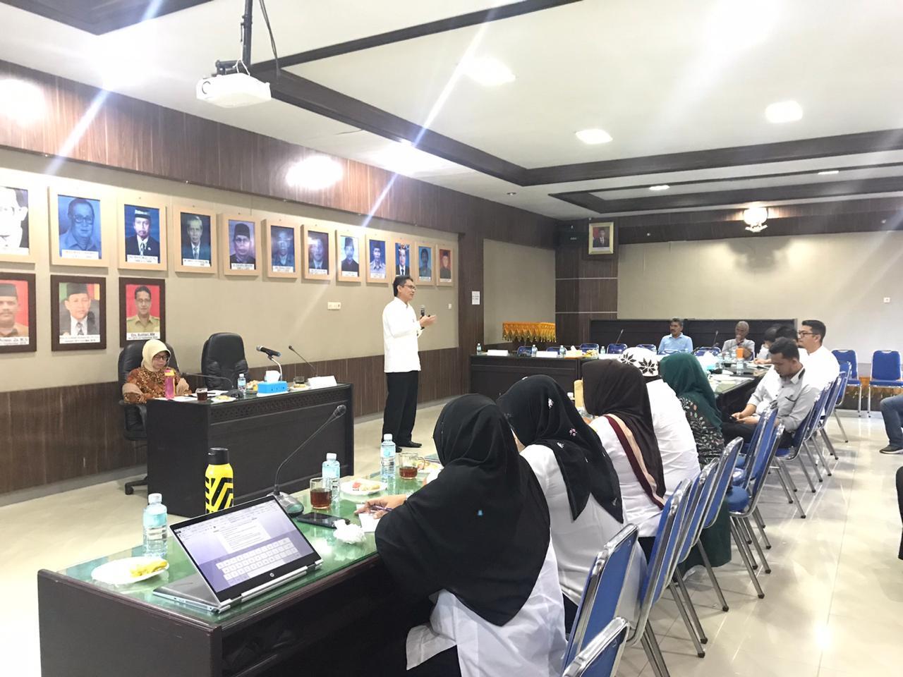 2020, Balai Syura dan Dinas Pemberdayaan Masyarakat Gampong Aceh akan Jalin Kerjasama